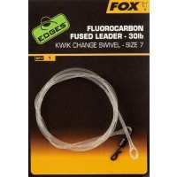 Fluorocarbon Fused Leaders Size 7