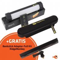 Multi Lite Duo + GRATIS Bivvy Lite Bankstick Adaptor-Full Kit