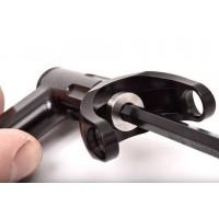 Small Lockdown Rod Grip - Black Prolite