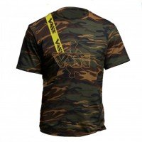 Vass Embroidered Camouflage T-Shirt inc. Yellow strap